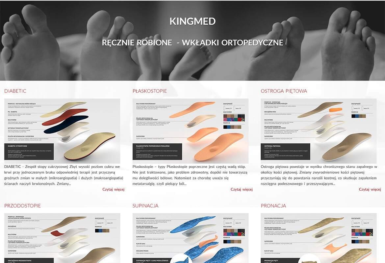 8db25589d Strona www wykonana dla: Kingmed - Producent wkładek ortopedycznych ...