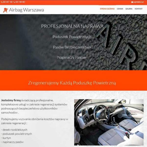 Strona www wykonana dla: Airbag Warszawa Naprawa poduszek powietrznych